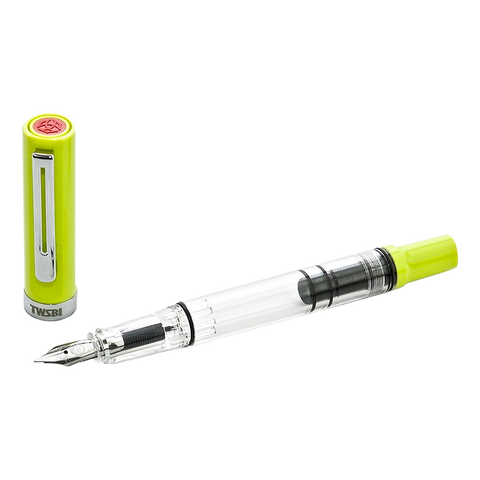 TWSBI ECO-T (Yellow Green) - Broad - The Desk Bandit