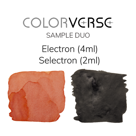 Colorverse Electron and Selectron - 4ml + 2ml Sample Set - The Desk Bandit