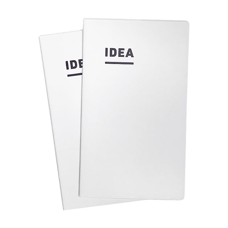 IDEA Notebook - A5 Slim - Grid (2-pack)