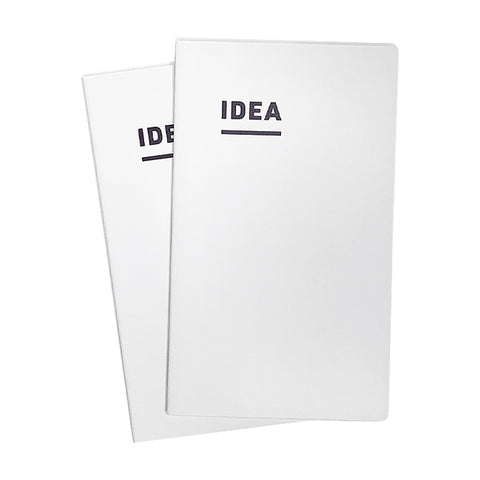 Kokuyo IDEA Notebook - A5 Slim - Grid (2-pack) - The Desk Bandit