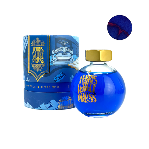 Ferris Wheel Press Jelly Bean Blue - 85ml - The Desk Bandit