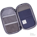 Lihit Lab Smart Fit Compact Pen Case (Navy) - The Desk Bandit