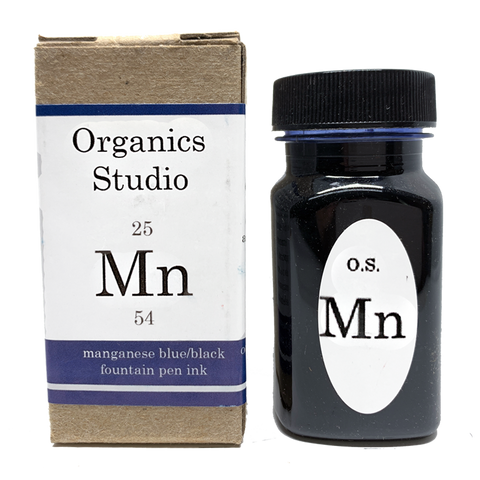 Organics Studio Manganese Blue Black - 55ml - The Desk Bandit