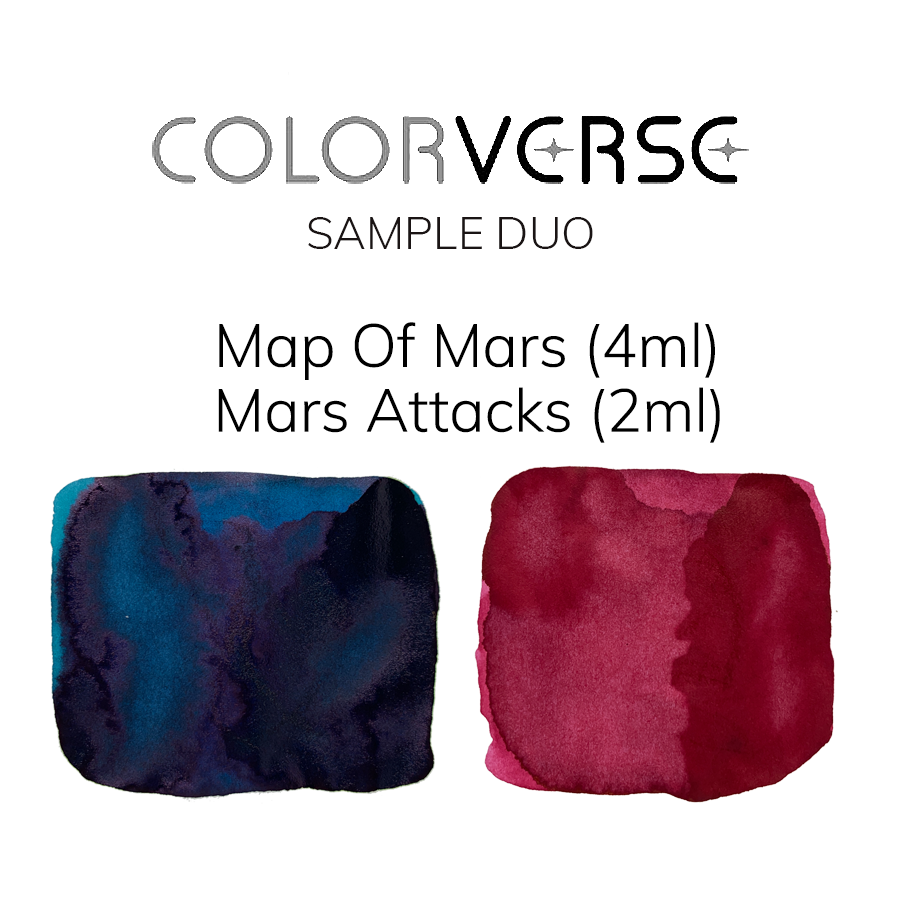 Map of Mars & Mars Attacks  - 4ml + 2ml Sample Set