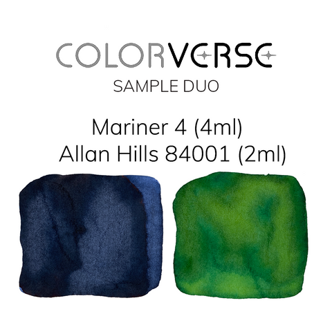Colorverse Mariner 4 and Allan Hills 84001  - 4ml + 2ml Sample Set - The Desk Bandit