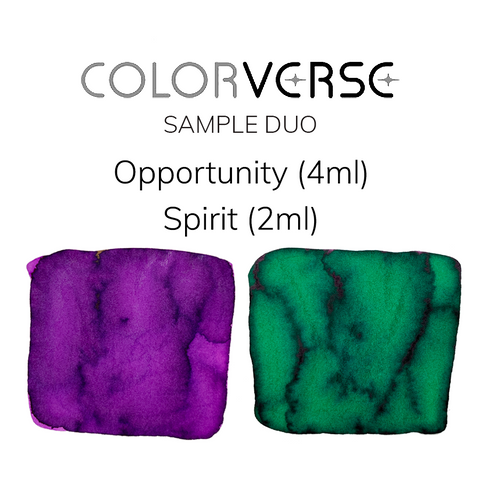 Colorverse Opportunity and Spirit - 4ml + 2ml Sample Set - The Desk Bandit