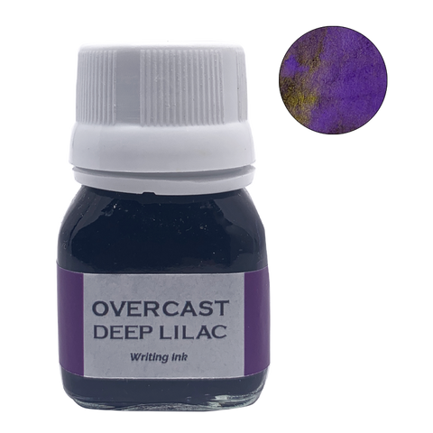 Krishna Inks Overcast Deep Lilac - 20ml - The Desk Bandit