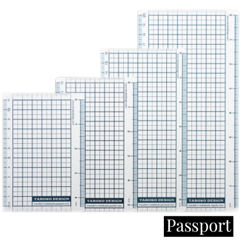 Taroko Design Pencil Board - Passport - The Desk Bandit