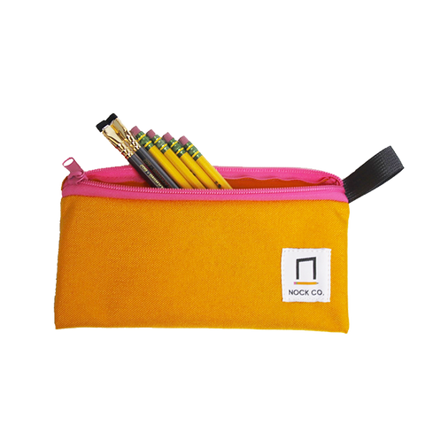 Pencil Pouch - Saffron