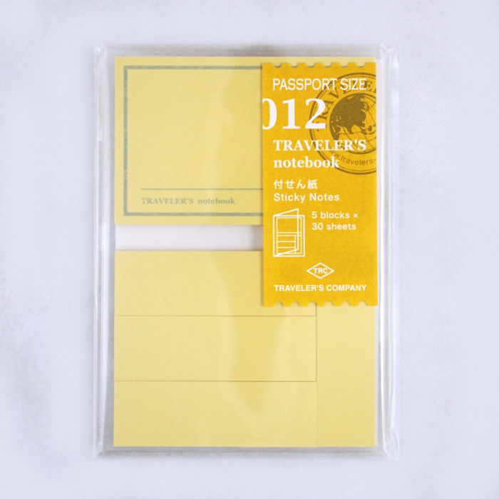 Traveler's Company #012 Sticky Notes (Passport) - The Desk Bandit