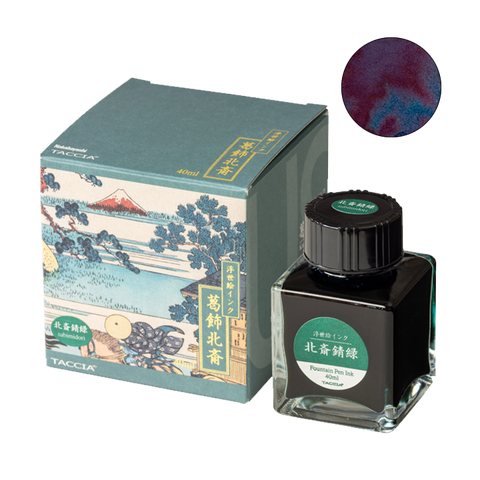 Taccia Hokusai-Sabimidori - 40ml - The Desk Bandit