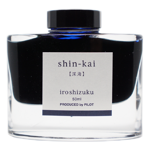 Pilot Iroshizuku Ink 50ml - Shin Kai - The Desk Bandit