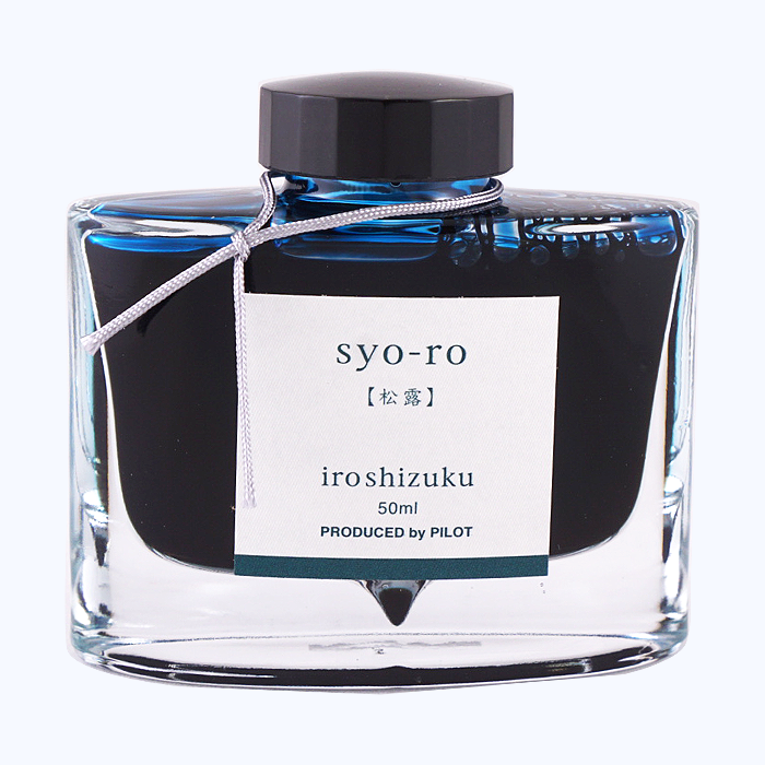 Iroshizuku Ink 50ml - Syo Ro - The Desk Bandit