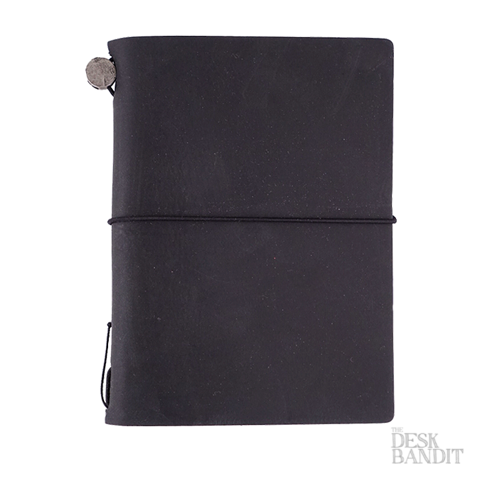 Traveler's Company Passport Leather Cover (Black) - The Desk Bandit