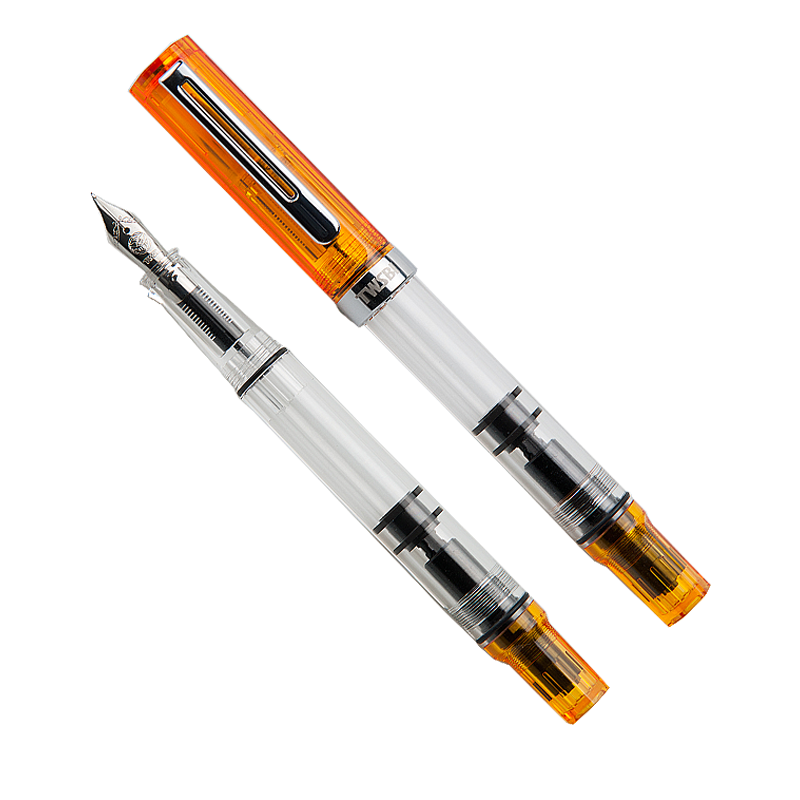 TWSBI ECO (Transparent Orange) - Stub 1.1 - The Desk Bandit