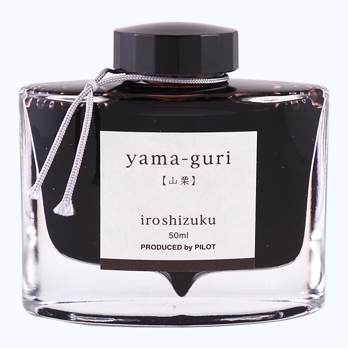 Pilot Iroshizuku Ink 50ml - Yama Guri - The Desk Bandit