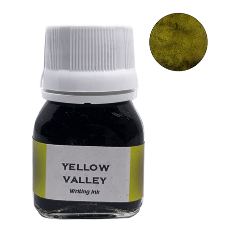 Krishna Inks Yellow Valley - 20ml - The Desk Bandit