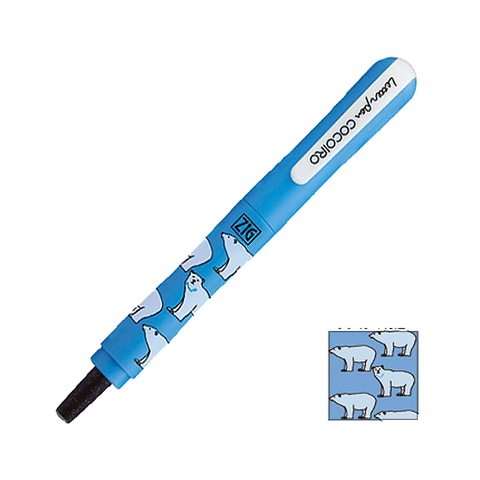 ZIG Letter pen COCOIRO - Polar Bear 2 - Black - The Desk Bandit