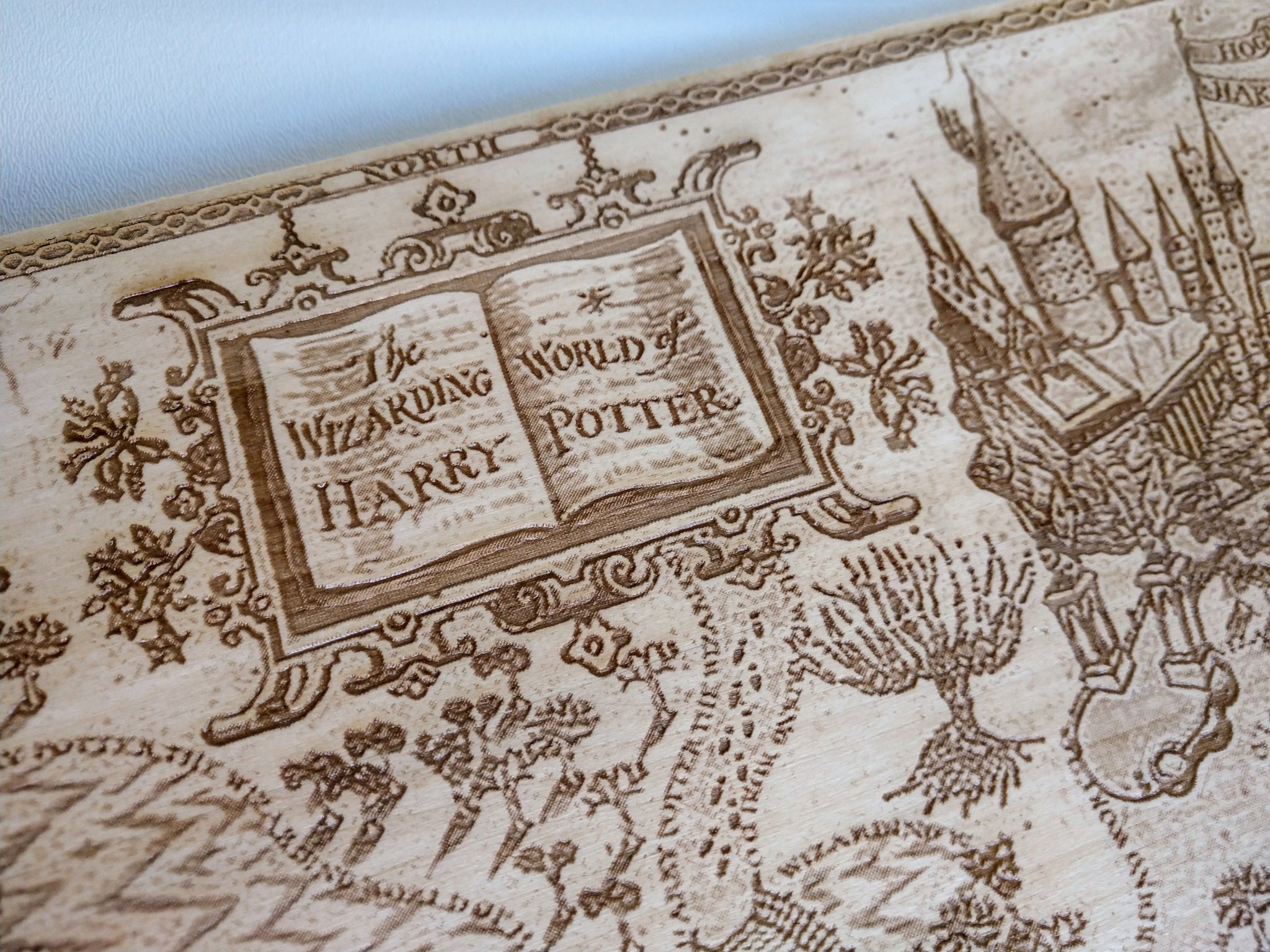Wizarding World of Harry Potter - Inspired Large Engraved ...