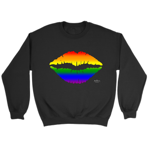 PRIDE Voice Unisex Black Sweatshirt