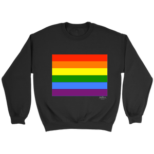 PRIDE Flag Black Sweatshirt