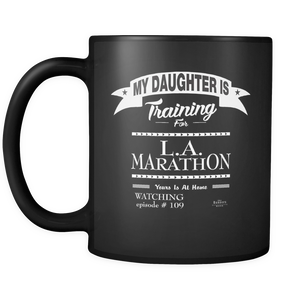 LIMITED EDITION Black Mug 11oz (DAUGHTER/BRAG)