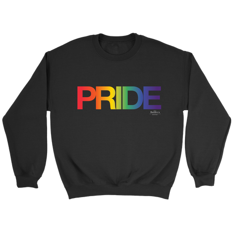 PRIDE Voice Black Unisex Sweatshirt