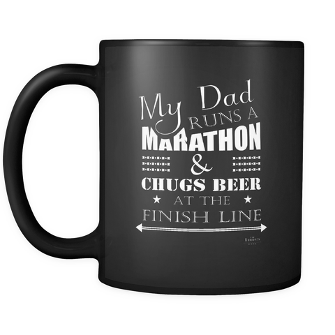 LIMITED EDITION Black Mug 11oz (BEER/DAD)