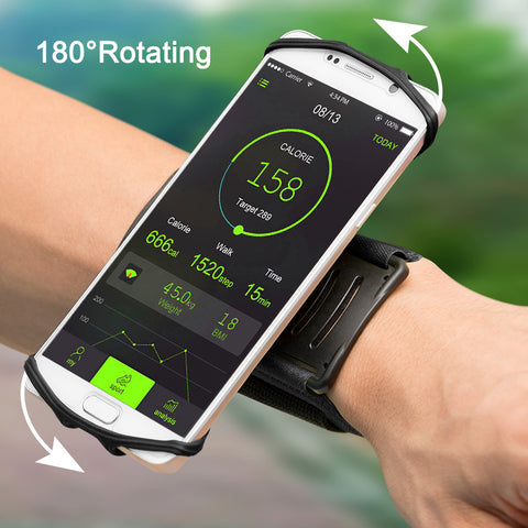180-degree Rotatable Phone Wristband