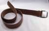 the leather belt - golden brown