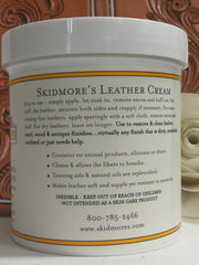 Skidmore's Leather Cream, 1 pint
