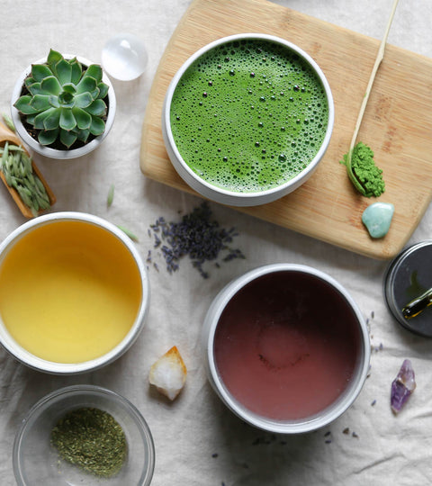 Calming Plant Remedies to Pair With Matcha