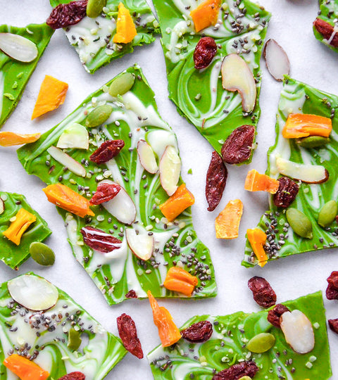 Matcha White Chocolate Bark Recipe