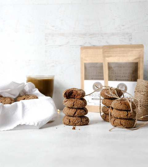 Winter Molasses Hojicha Cookies Recipe