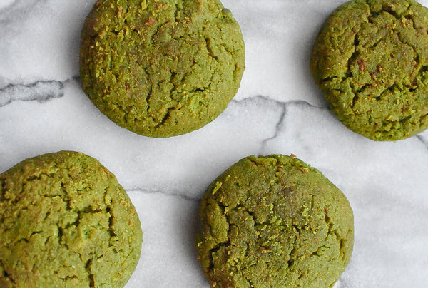 Paleo Matcha Cookies Recipe