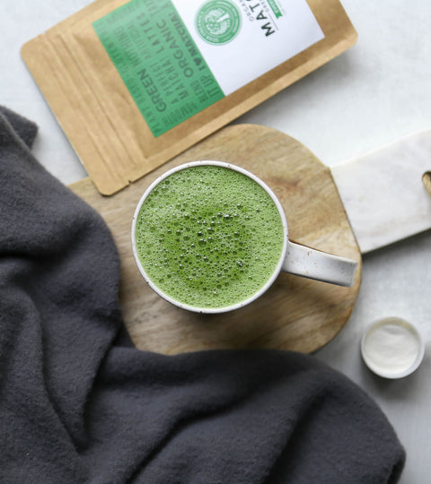 Matcha Collagen Latte Recipe