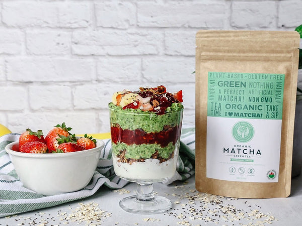 Matcha overnight oats recipe