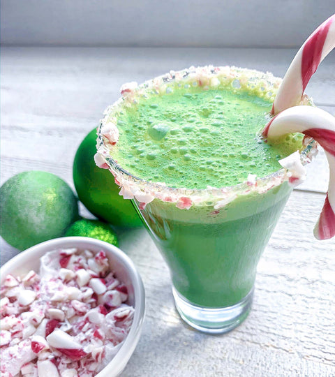Peppermint Matcha Latte Recipe