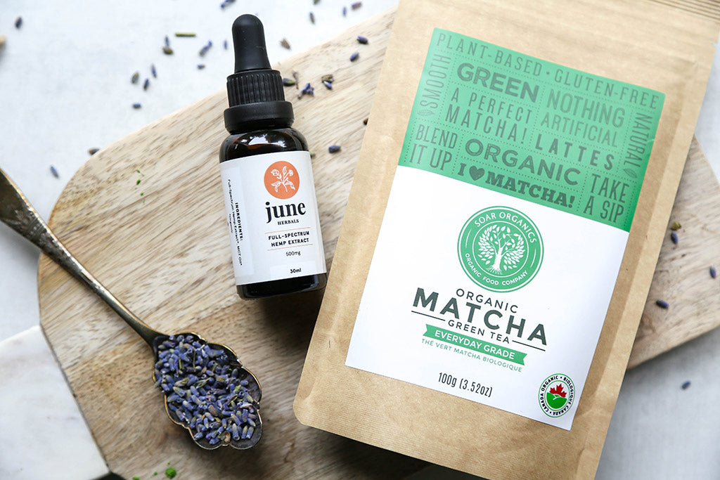 Soar Organics Matcha June Herbals CBD Collaboration Recipe
