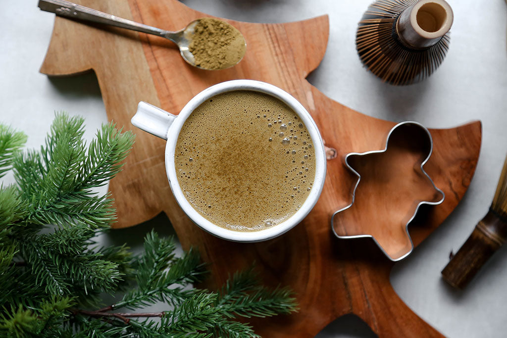 Organic Hojicha Powder Latte Recipe
