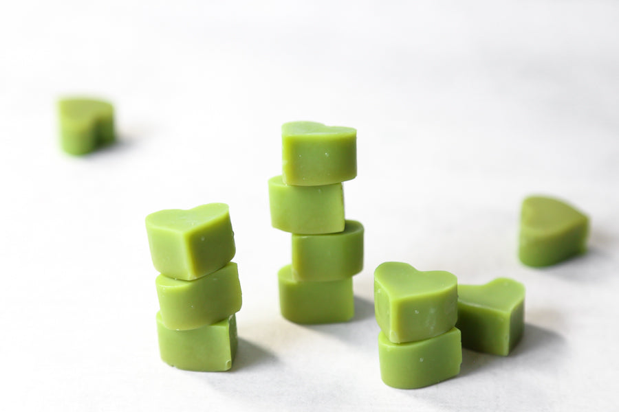 Delicious mini matcha treats with healthy fat butters