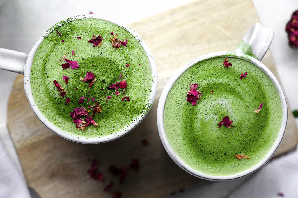 Rose Matcha Latte Recipe