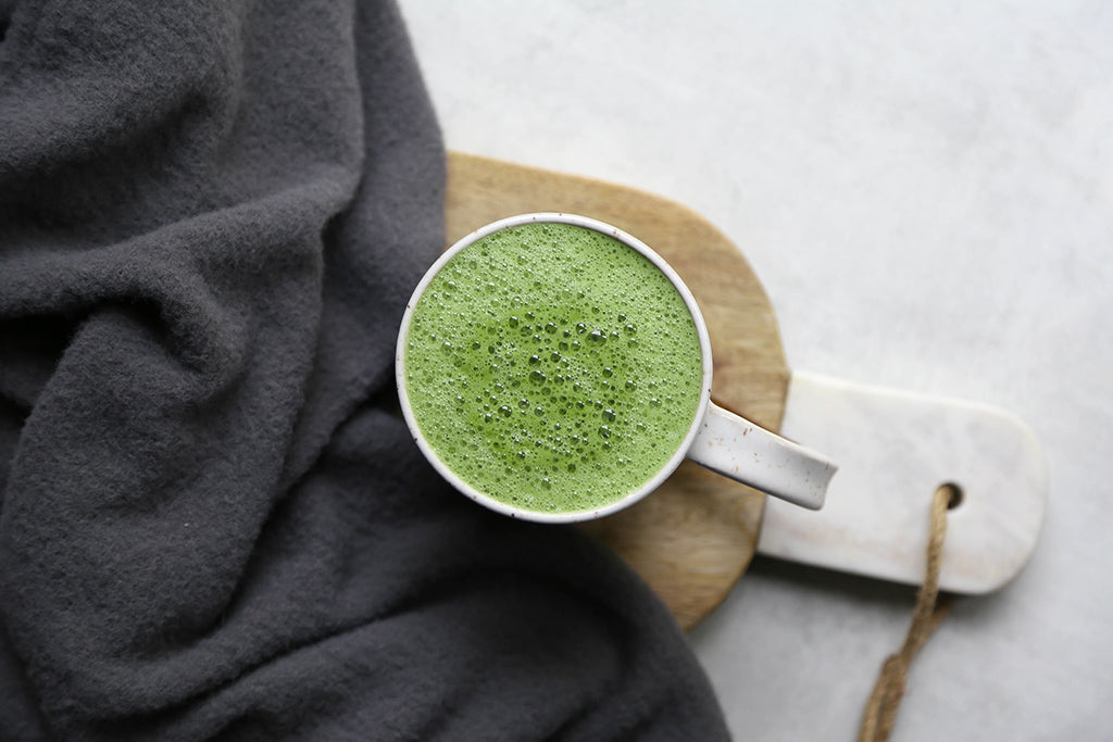 Soar Organics Matcha Collagen Latte Recipe