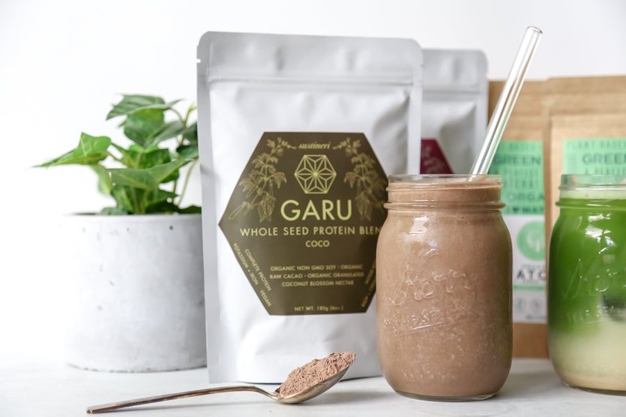 soar-organics-and-garu-coco-protein-smoothie