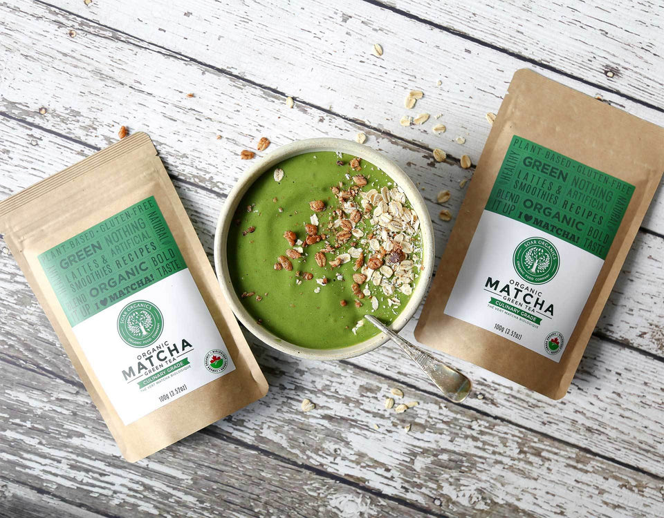 Soar Organics Culinary Matcha Powder for lattes and smoothies
