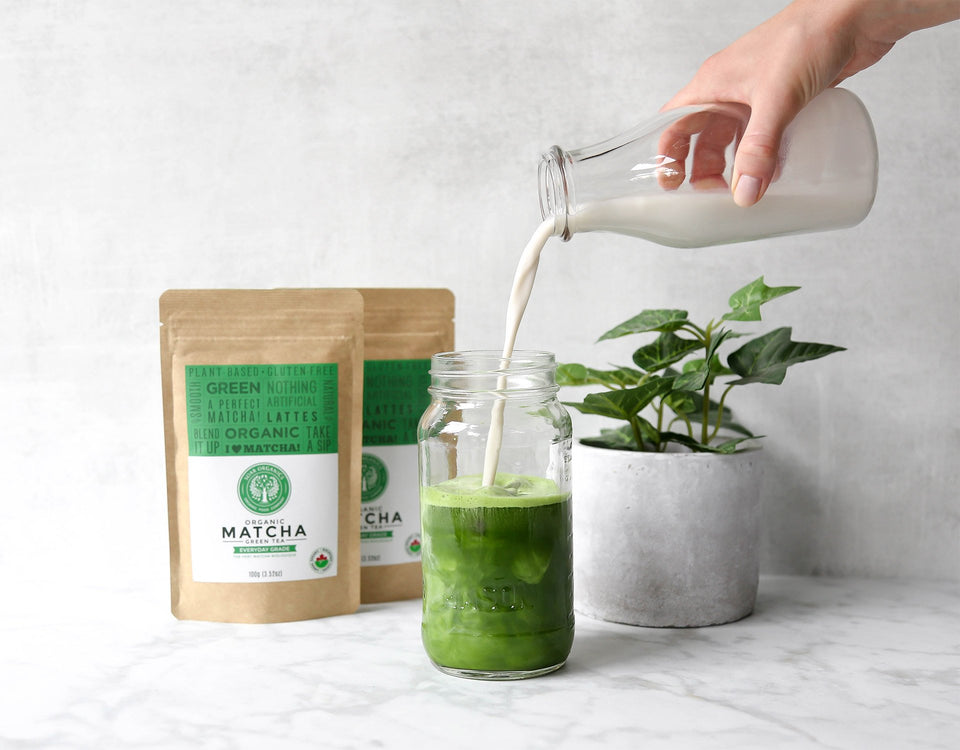 Soar Organics Everyday Matcha Powder for lattes and smoothies