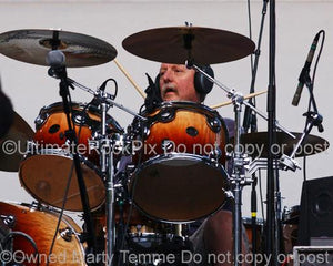 Photos of Drummer Butch Trucks of The Allman Brothers Band in Concert by Marty Temme