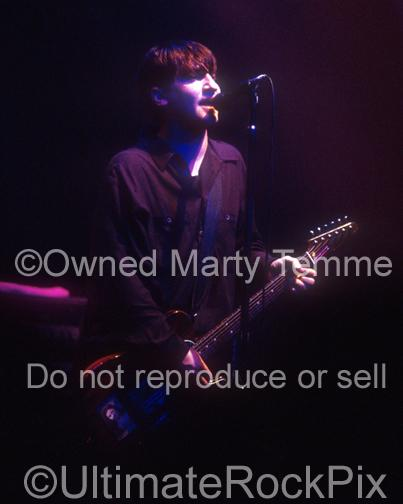Photos of Musician Greg Dulli of Afghan Whigs in Concert in 1996 by Marty Temme