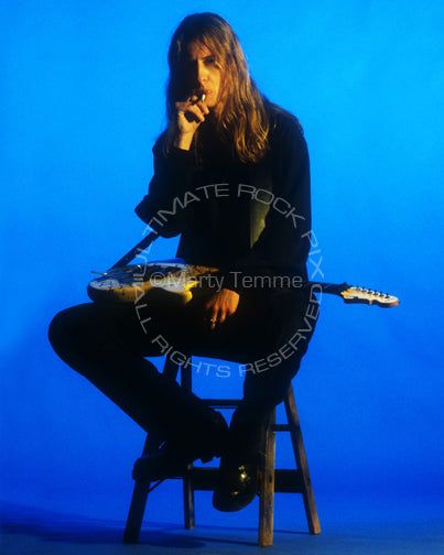 Photo of Jerry Cantrell during a photo shoot in 1995 by Marty Temme
