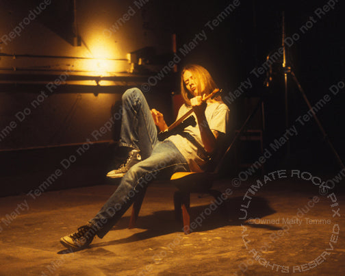 Photos of Jerry Cantrell of Alice in Chains During a Photo Shoot in 1996 by Marty Temme